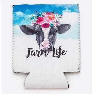 Farm life koozie